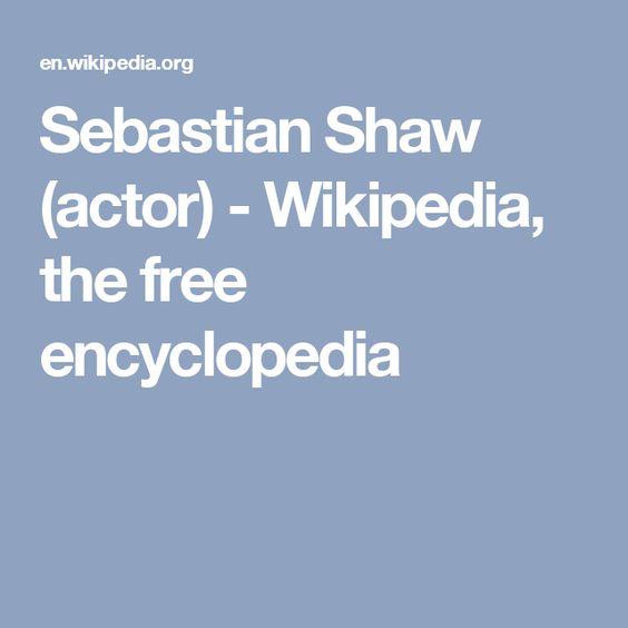 Sebastian Shaw (actor) - Wikipedia, the free encyclopedia
