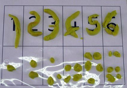 DES ACTIVITES POUR RECONNAÎTRE LES CHIFFRES EN MOYENNE SECTION - 1, 2, 3, dans ma classe à moi...