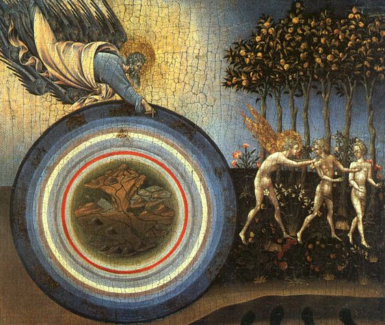Giovanni di Paolo, 1445, Creation of the World & Expulsion from Paradise