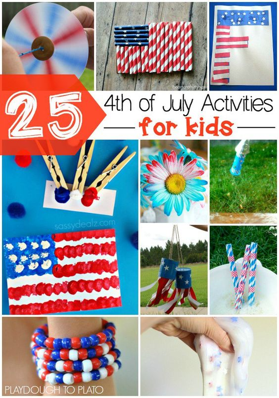 july 4th games for toddlers