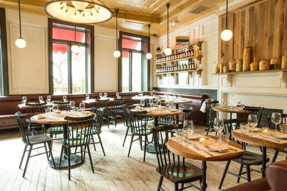 19 restaurants hitting the rustic nail on the head on domino.com