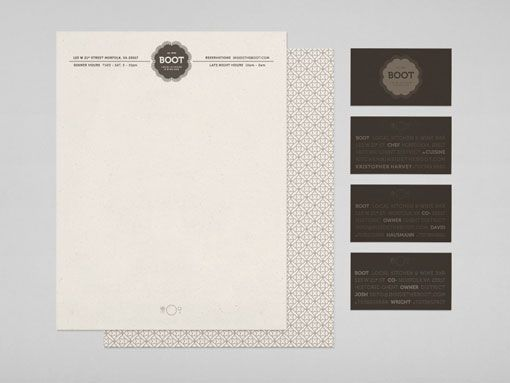 sophisticated identity refresh for aNorfolk, Virginia based restaurant, by Forest.