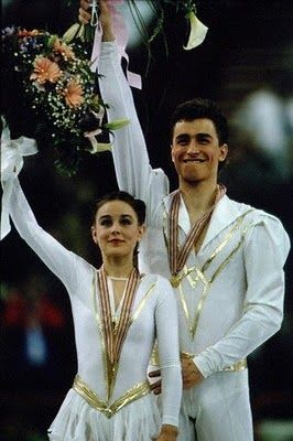 A HEARTBREAKING LOVE STORY - EKATERINA GORDEEVA AND SERGEI GRINKOV ... IN HAPPY DAYS-WHEN THEY WON THEIR THIRD WORLD CHAMPIONSHIP IN PARIS,1989.