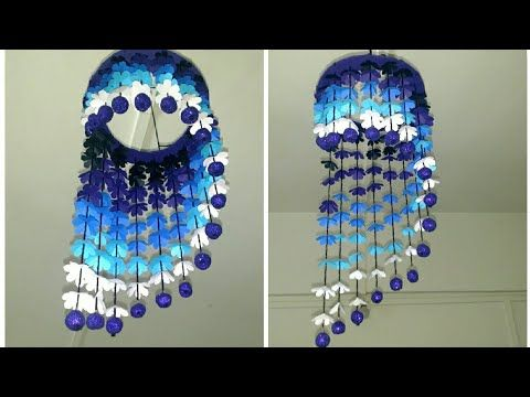 Wind Chime From Paper Paper Craft Handcrafted By Punekar
