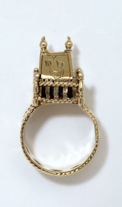 wedding ring germany or central european gold 18th