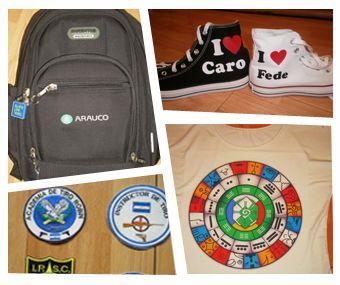 Bordado Sin cantidad minima Estampado textil en Cap Fed www.estampartecapital.com.ar