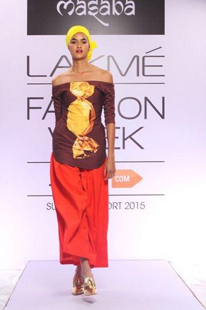 Avyktagni : Lakme Fashion Week 2015-Candy Crush By Masaba Gupta