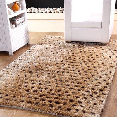 Affinity Linens Hand-Woven Beige Indoor Area Rug Rug Size: