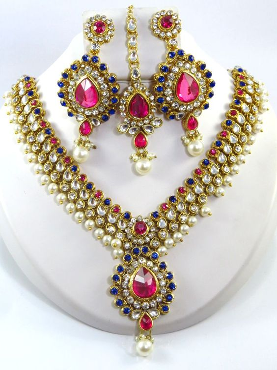 Top 9 Latest Kundan Jewellery Designs Styles At Life
