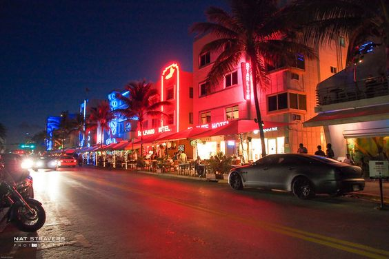 Art Deco District, South Beach - Miami by Nathalie Stravers on 500px