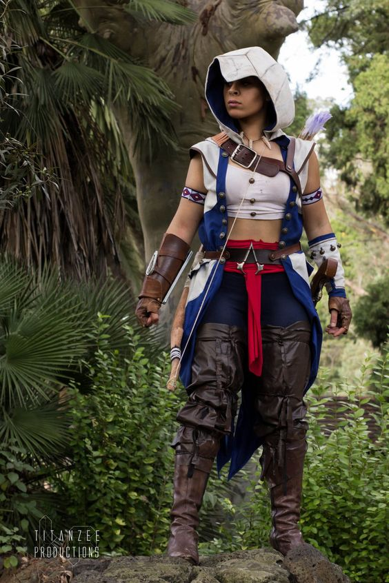 Assassins Creed 3 Cosplay Connor Kenway by YelizCosplay