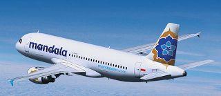 MANDALA AIRLINES FROM BANGKOK TO SURABAYA