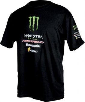 #Tshirt pro circuit #equipement #motard #kawasaki
