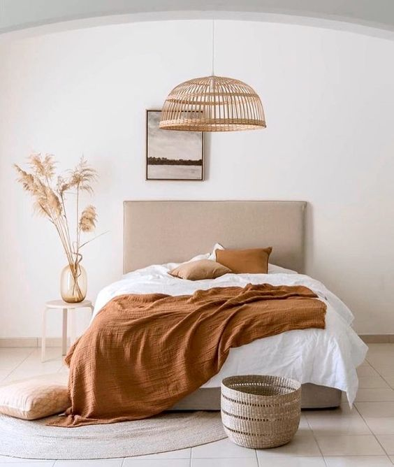 The beige tones will create warm and cozy rooms.