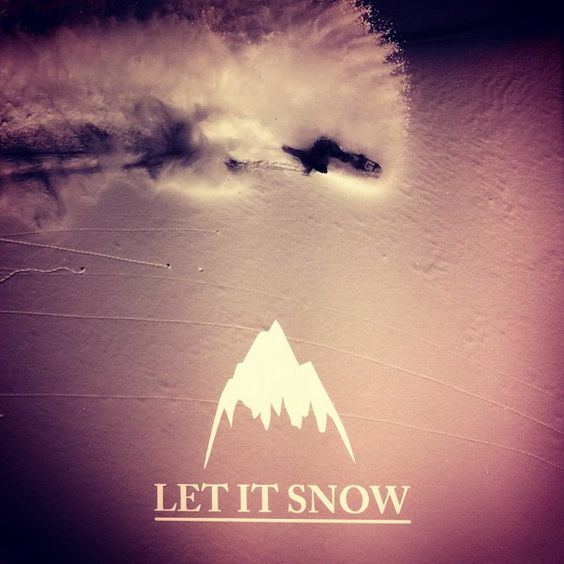 Let it snow @burtonsnowboard Burton Snowboards.  we are ready for it!