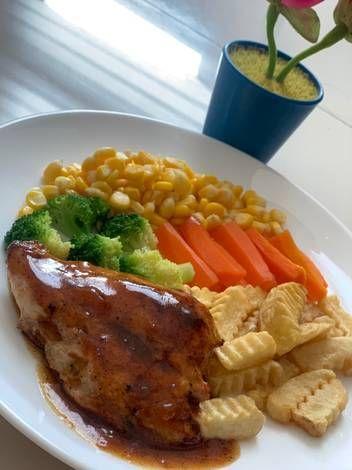 Resep Chicken Steak Bistik Ayam Saus Lada Hitam Oleh Piring Makanku Resep Resep Steak Makan Malam Resep Ayam