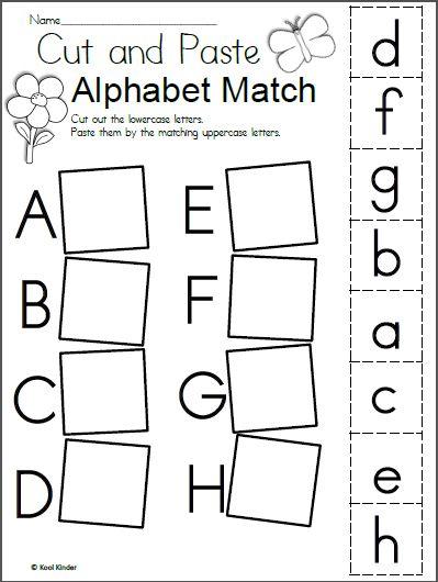 Printable Alphabet Worksheets Letter Worksheets For Preschool Alphabet Worksheets Kindergarten Free Kindergarten Worksheets Alphabet worksheets for kindergarten to