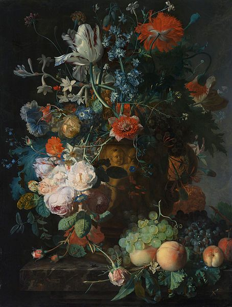 Jan van Huysum - Blumen und Früchte