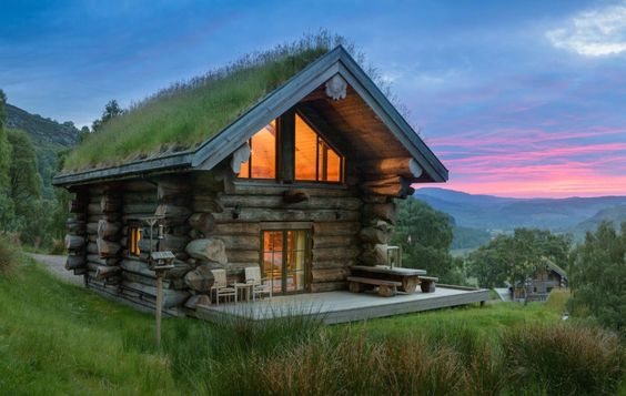 Stay in this fairytale eco-cabin in Glen Strathfarrar.   17 Life-Changing Things Everyone Must Do In Scotland In 2017