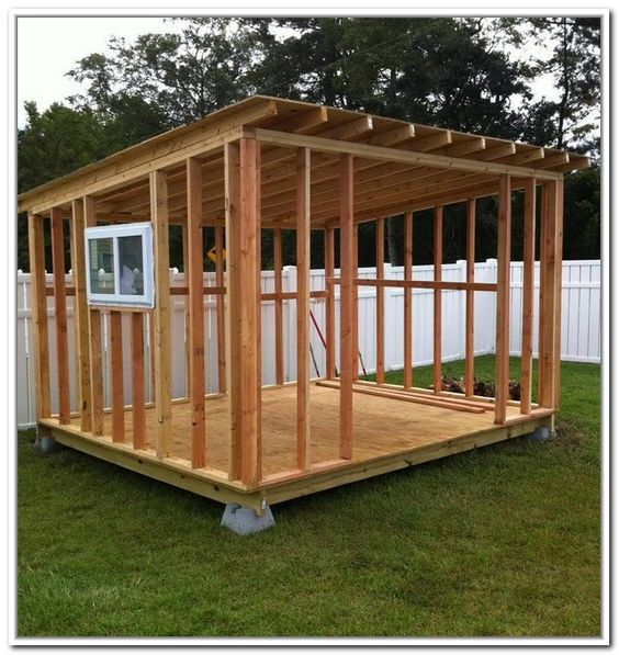 Cheap storage shed plans mr fleury pinterest for Cheapest way to build a building