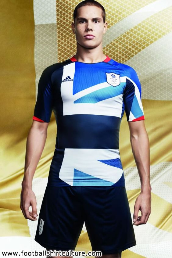 This makes me glad I'm NOT going to the Olympics.  What an awful kit design.