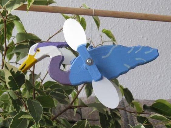 WHIRLIGIG- Canada Goose',hand crafted, handmade,Home & Living