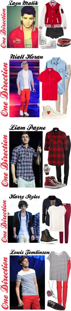 """""""One Direction 3"""" by konstantina1 ❤ liked on Polyvore"""
