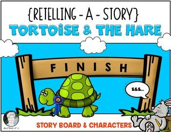 Tortoise The Hare Retelling A Story Storyboard Character