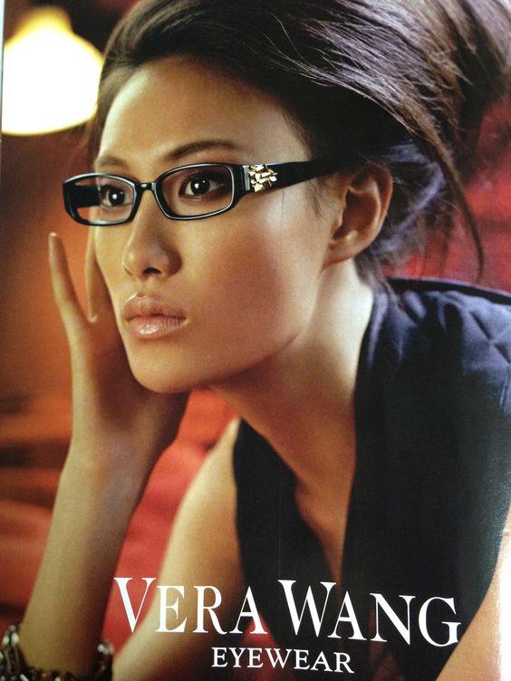 Vera wang eye glasses and eyes on pinterest - Vera wang martini glasses ...