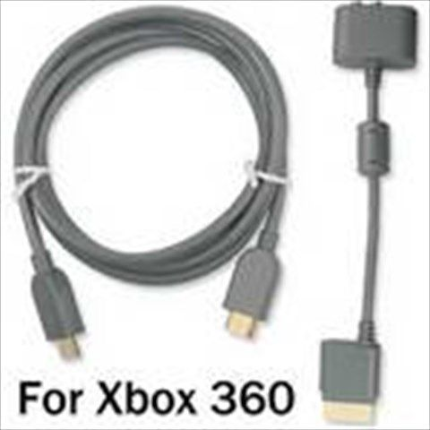 6 Feet HDMI AV Cable & Stereo L/ R RCA Audio Adaptor with Optical Out for Microsoft Xbox360