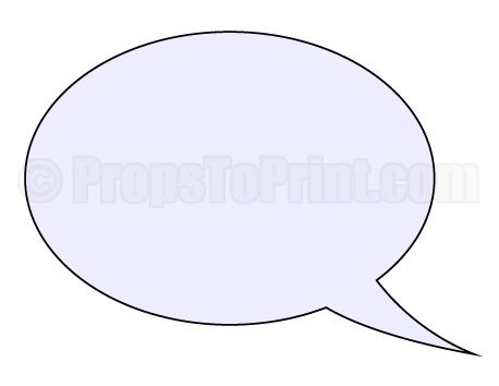 Printable speech bubble photo booth prop create diy props for Photo booth speech bubble template
