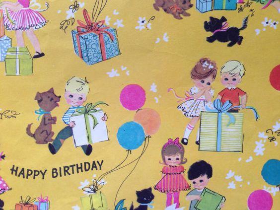 He encontrado este interesante anuncio de Etsy en https://www.etsy.com/es/listing/128704150/vintage-gift-wrapping-paper-juvenile