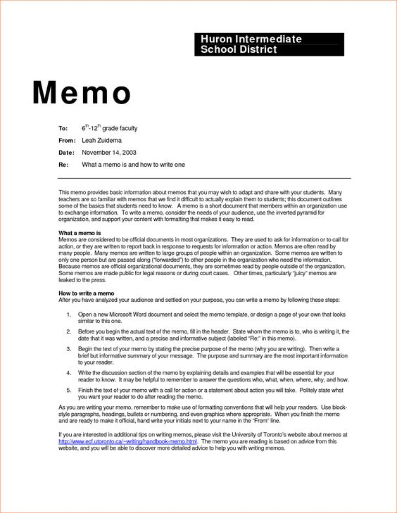 business memo examples inter office sample example contract - inter office communication letter