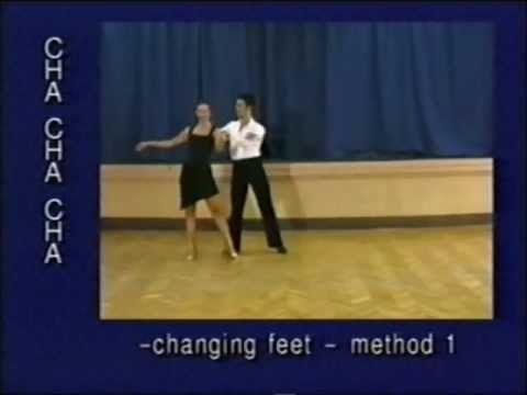 Cha Cha Dance Steps 47 Changing Feet Method 1 Youtube Dance Steps Cha Cha Dance Dance