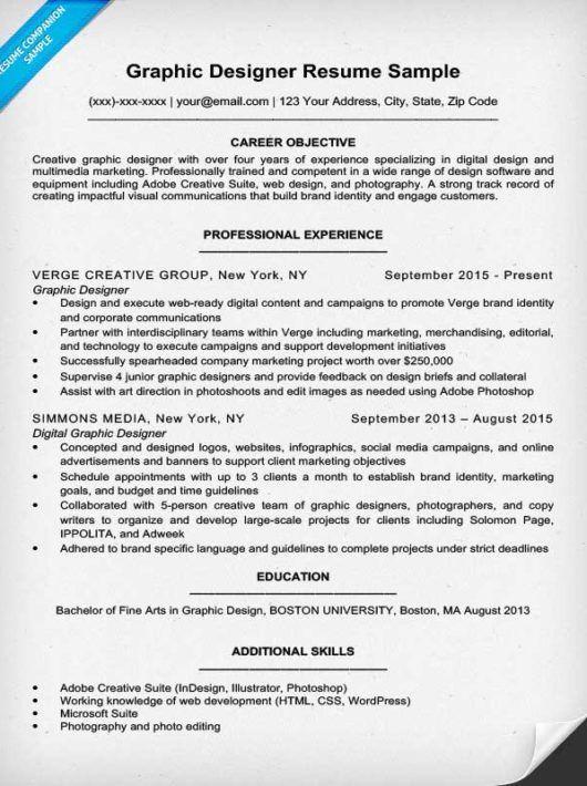 Bilderesultat For Digital Designer Cv Graphic Design Resume Resume Design Graphic Design Education