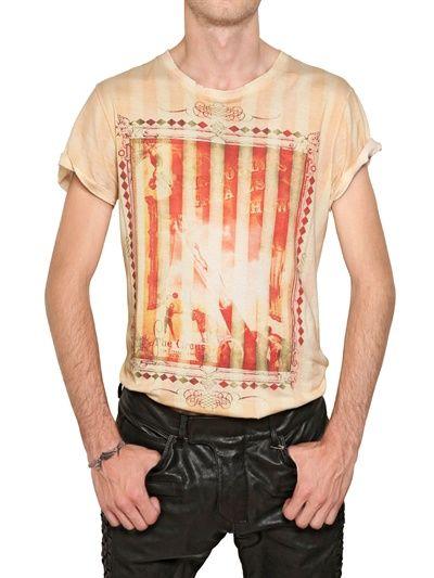 Balmain - Circus Print Cotton Jersey T-Shirt