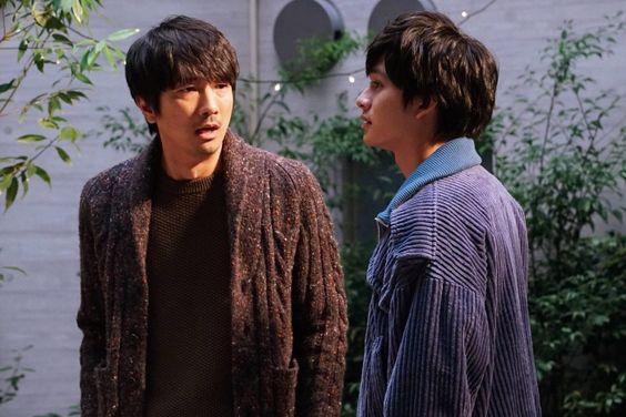 眞島秀和と北村匠海のドラマでの1枚です。