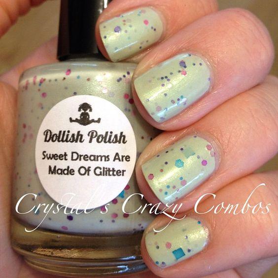 Dollish Polish - Sweet Dreams Are Made of Glitter