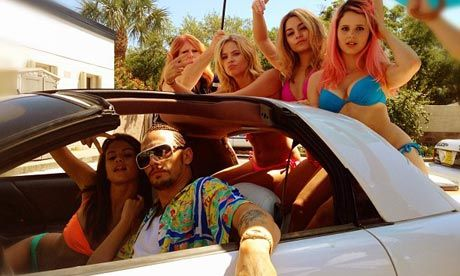 The Guardian - Spring Breakers, a riotous take on modern America
