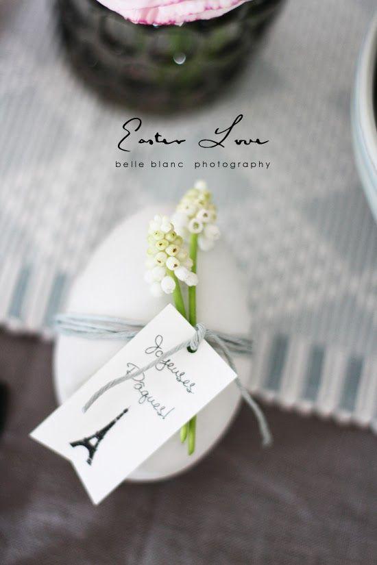 BELLE BLANC: Easter Love