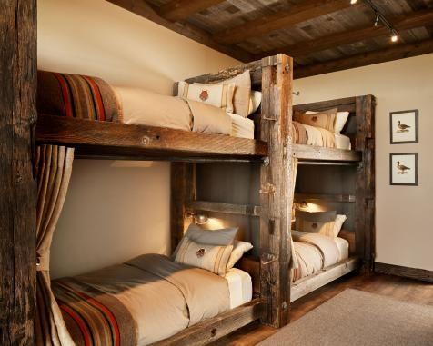 Trending Remote Luxury Rustic Bunk Beds
