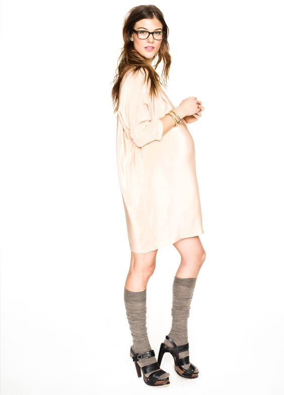 Hatch Collection THE SHIRT DRESS all about the socks