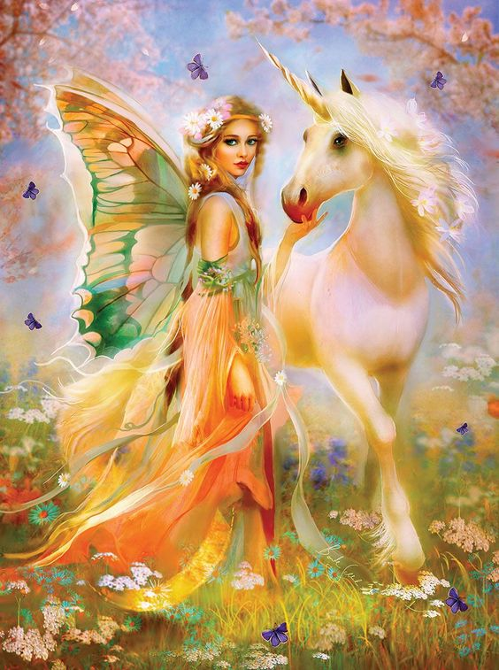 Fairy Princess and Unicorn | PuzzleWarehouse.com