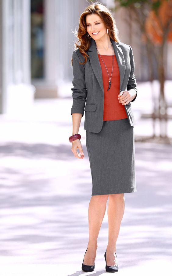 Skirt Suits Uniforms Amazing Dresses Modest Elegance Pinterest Business Dresses