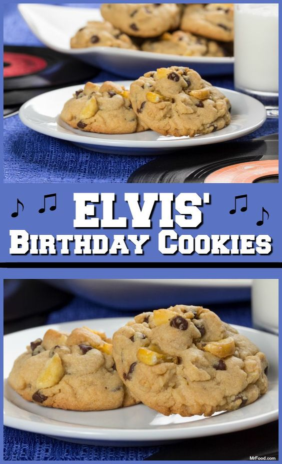 Inspired by the King of Rock 'n' Roll, these pudding cookies feature one of Elvis' favorite flavor combinations: peanut butter and banana!