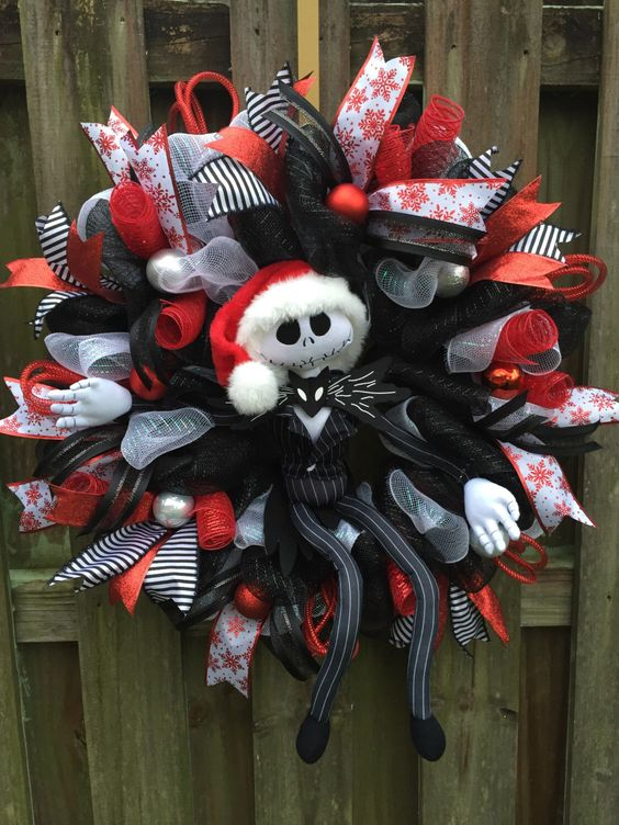 A personal favorite from my Etsy shop https://www.etsy.com/listing/494315457/nightmare-before-christmas-jack