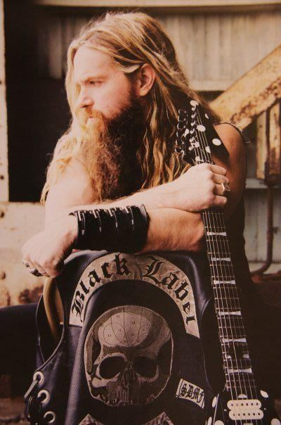 Zakk Wylde - Kinda scary how much my father resembled him. Meant to be a Metalhead <3