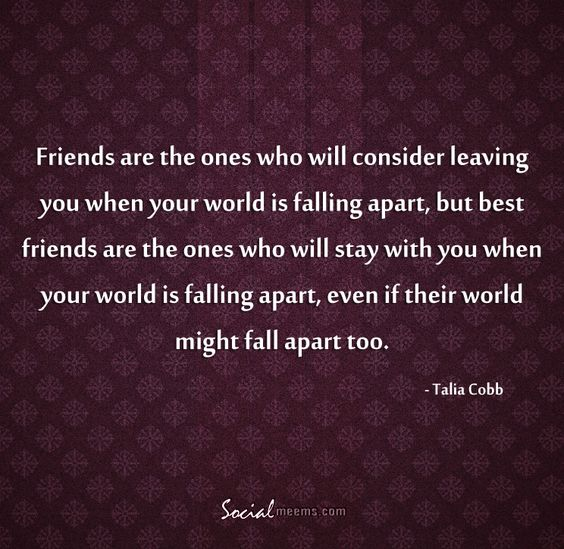 My Relationship Is Falling Apart: Friends Are The Ones Who Will Consider Leaving You When