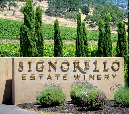 One of my favorite wines . . . Signorello Reserve Cabernet.  On Silverado Trail in NAPA Valley, just south of the Staggs Leap District.  Sooooo good!