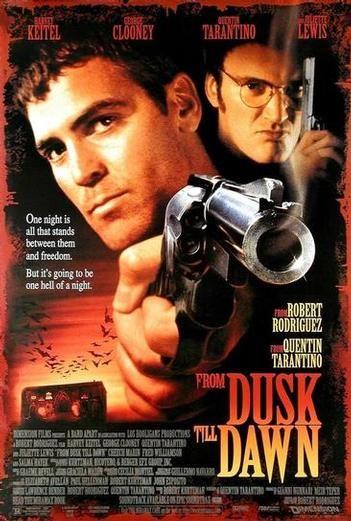 Speaking of badass vampire movies...Tarantino tops the team. (Top that, Condon!)